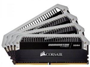 CORSAIR CMD64GX4M4C3000C15 DESKTOP RAM DOMINATOR PLATINUM SERIES - 64GB (16GBX4) DDR4 3000MHZ
